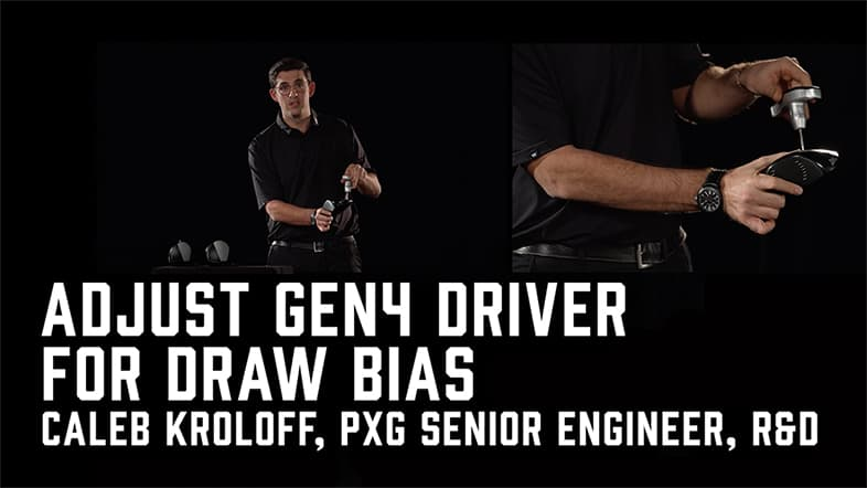 How to Adjust Your GEN4 Driver to Create a Draw Bias