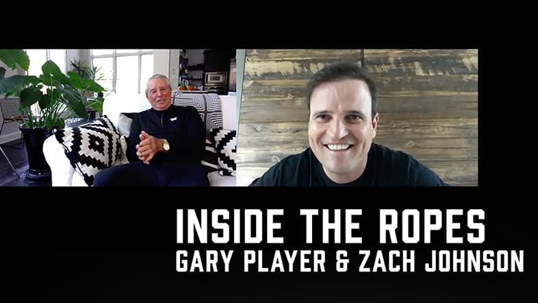 Inside the Ropes – Open Championship Edition With Gary Player and Zach Johnson.
