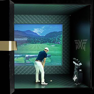 Day Seven: Golfer in fitting studio